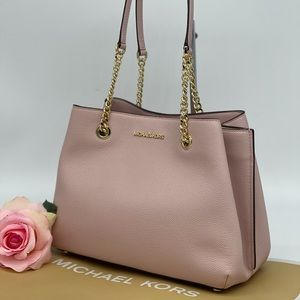 Michael Kors Teagen Long Drop Satchel Bag
